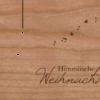 Holzkarte Anhänger Christkind