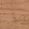 Holzkarte Anhänger Zauberhaft