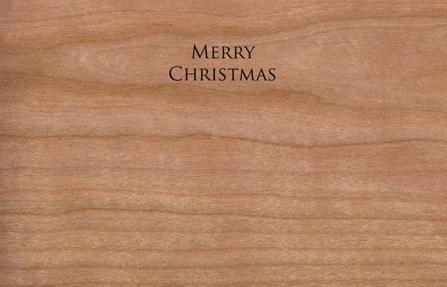 Holz Weihnachtskarten.Holz Weihnachtskarte Mit Anhänger Weihnachtsbaum