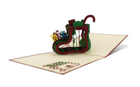 Popup-Karte Nikolausstiefel